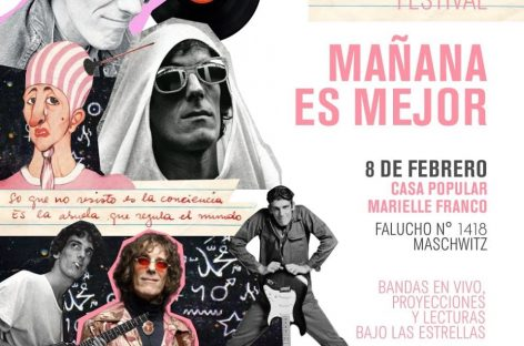 """Mañana es Mejor"", un homenaje a Spinetta en Ingeniero Maschwitz"
