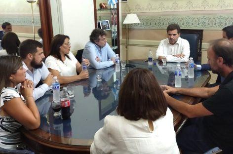 El diputado Cristian Ritondo recibió esta semana a parte del equipo de Juntos por el Cambio Escobar