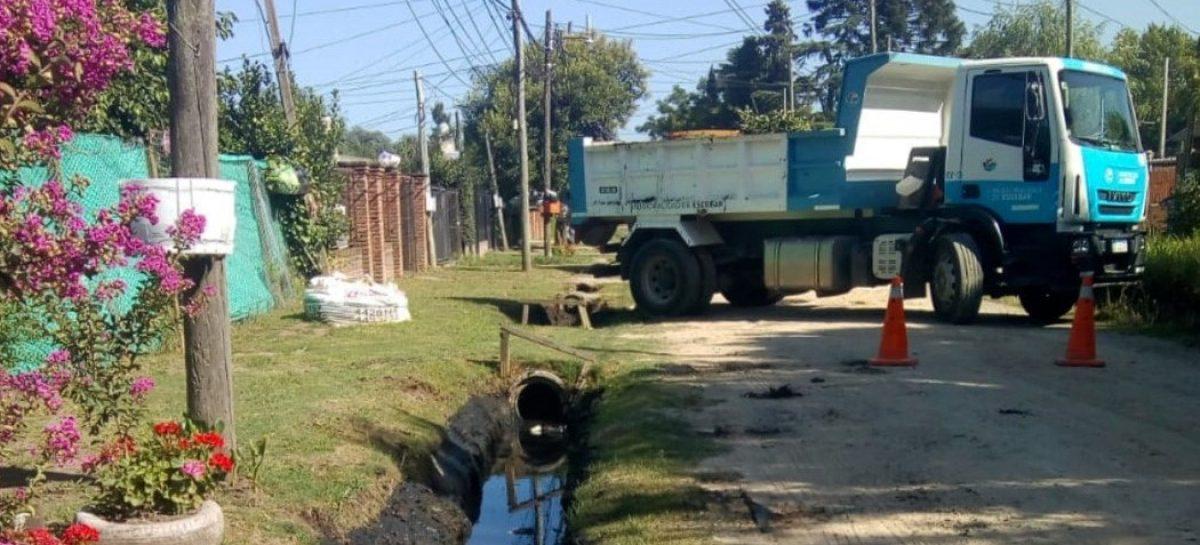 Continúan las obras de mantenimiento y mejora del espacio público en todas las localidades