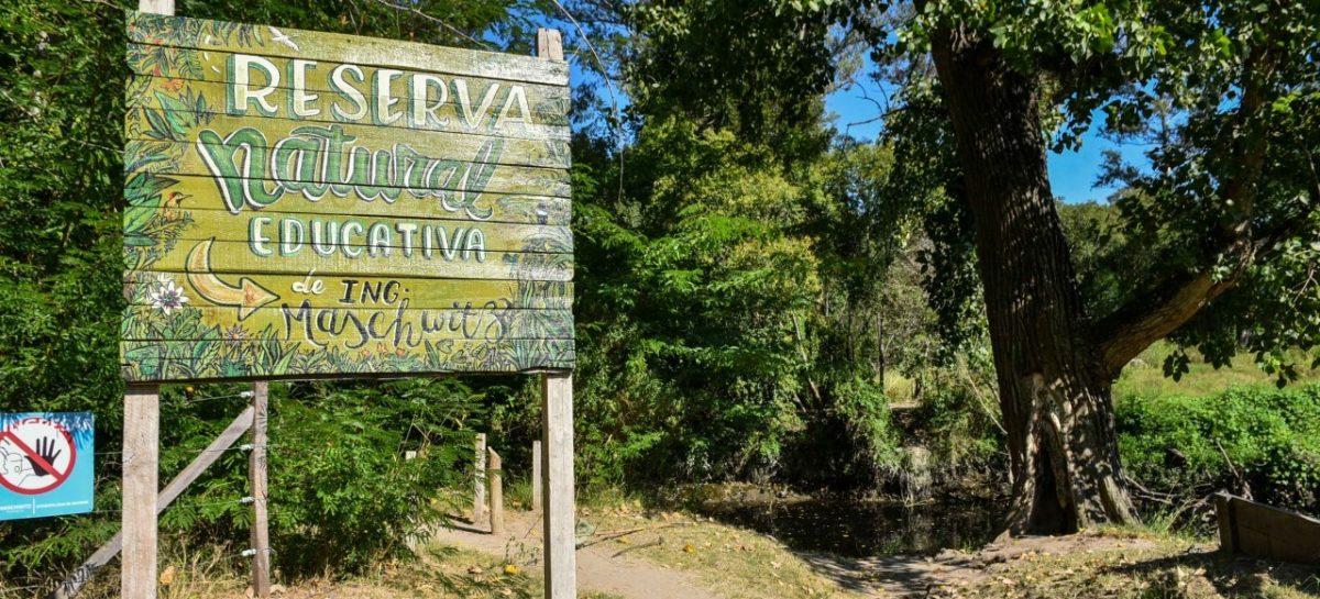 La Municipalidad de Escobar realiza relevamientos de recursos naturales en la Reserva Natural Educativa de Ingeniero Maschwitz