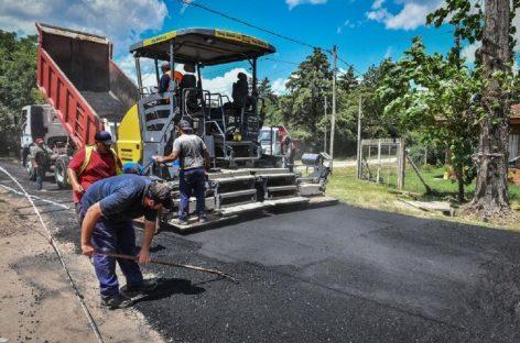 Continúan las obras viales en distintos barrios del distrito