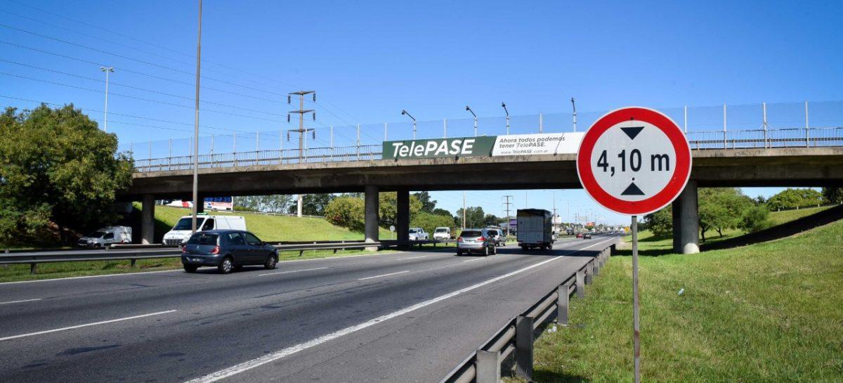 Desde mañana se reabrirá parcialmente la circulación vehicular del Puente Garín