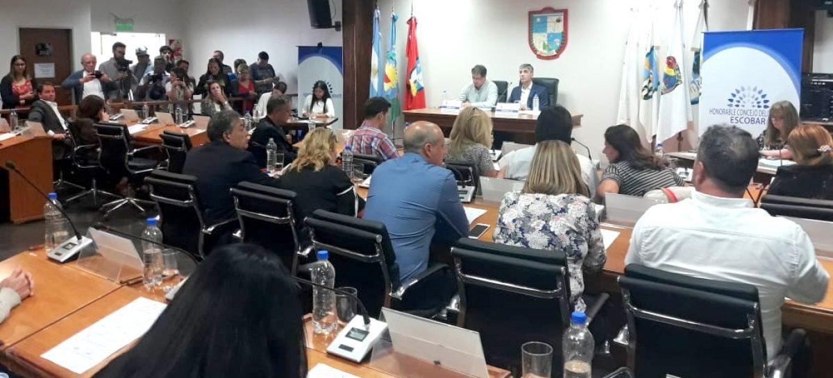 El Concejo Deliberante de Escobar dispuso medidas preventivas por el coronavirus