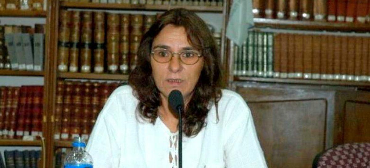 La destacada historiadora Araceli Bellotta brindará una charla en el Concejo Deliberante de Escobar