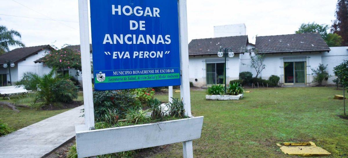 """Restringen las visitas al Hogar de Ancianas """"Eva Perón"""" hasta el 31 de marzo"""