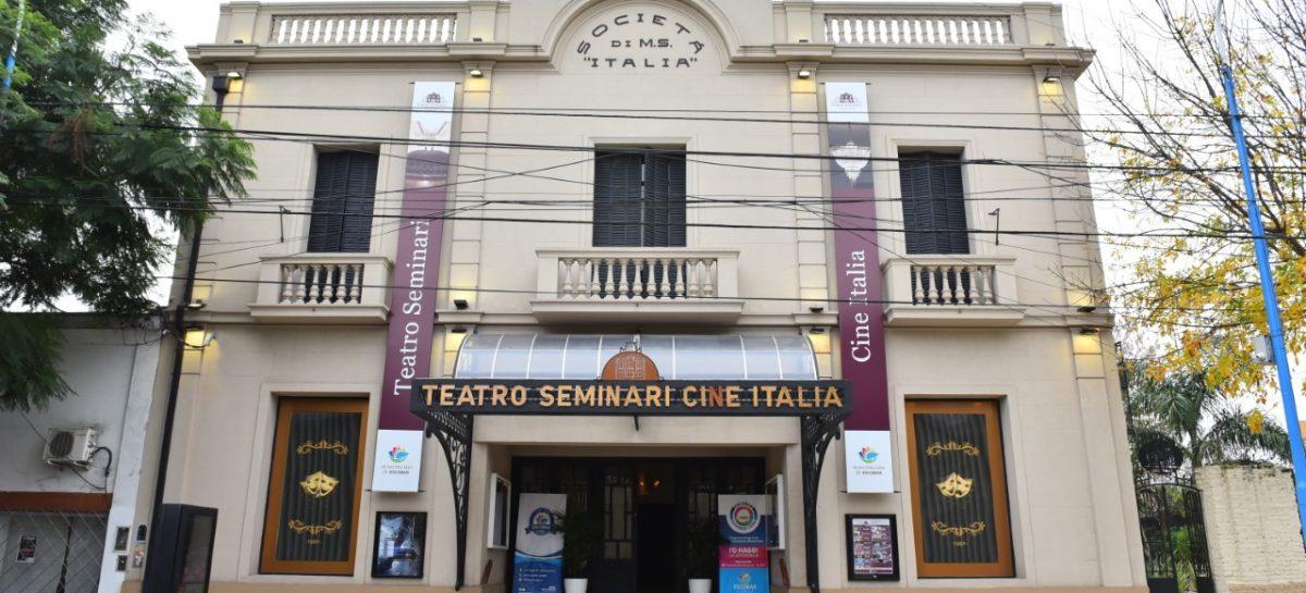 El Teatro Seminari Cine Italia reprograma sus funciones y habilita el reembolso de entradas