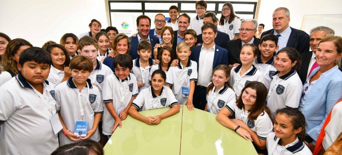 Abrió sus puertas el Colegio Cereijo, el primero de la UBA en Escobar y en toda la Provincia de Buenos Aires