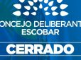 El Concejo Deliberante de Escobar permanecerá cerrado hasta el 12 de abril inclusive