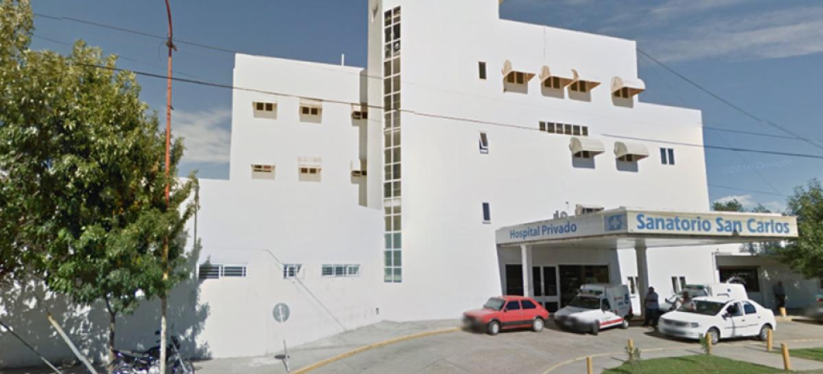 Se detectaron dos casos de coronavirus en la clínica San Carlos de Savio; los profesionales infectados se encuentran estables