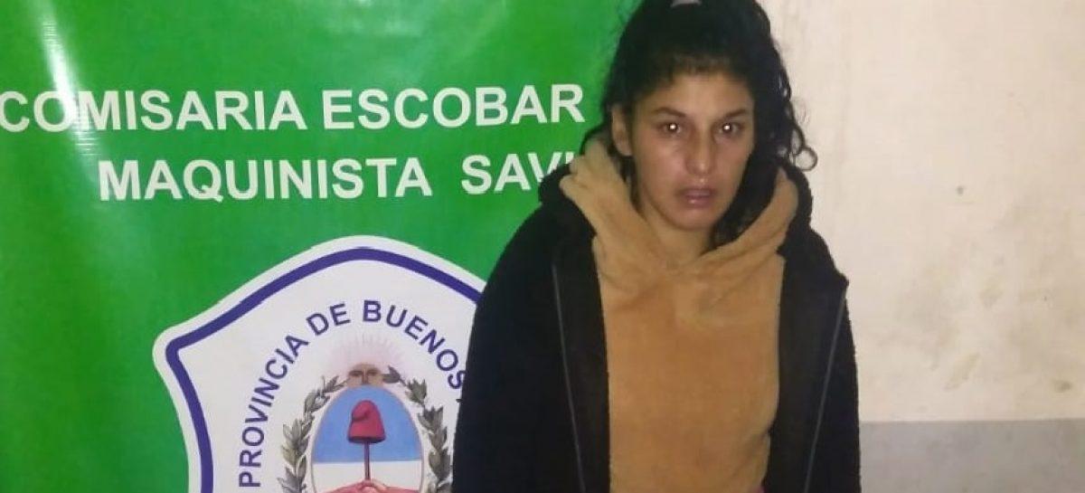 Detuvieron a una mujer que estaba prófuga, acusada de asesinar a un vecino de Savio
