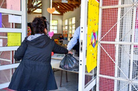 Se entregaron en escuelas más de 22.000 módulos de alimentos del Servicio Alimentario Escolar