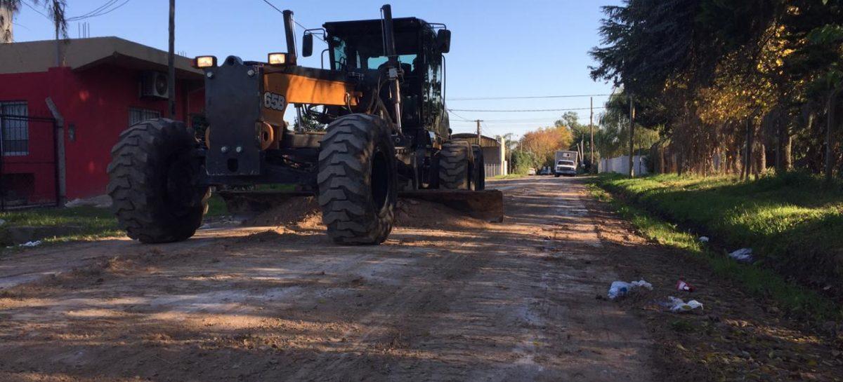 El municipio sigue adelante con obras de mejora y mantenimiento del espacio público en todo el distrito
