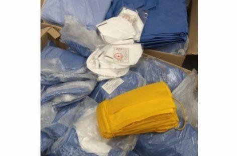 Rotary se suma a la lucha contra el coronavirus donando materiales e insumos especiales