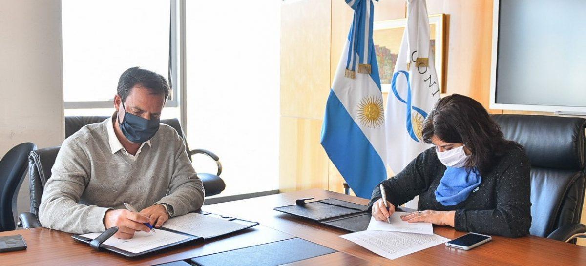 Escobar se convirtió en el primer municipio del AMBA en firmar un convenio de cooperación mutua con el CONICET