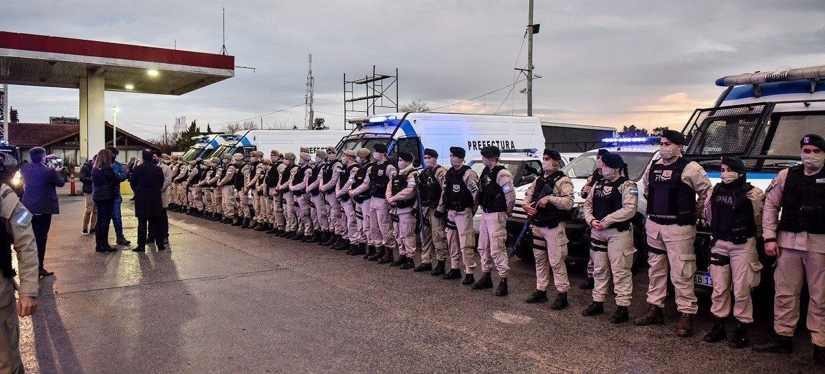 Municipio, Provincia y Nación realizan operativos de seguridad en distintos puntos del partido de Escobar