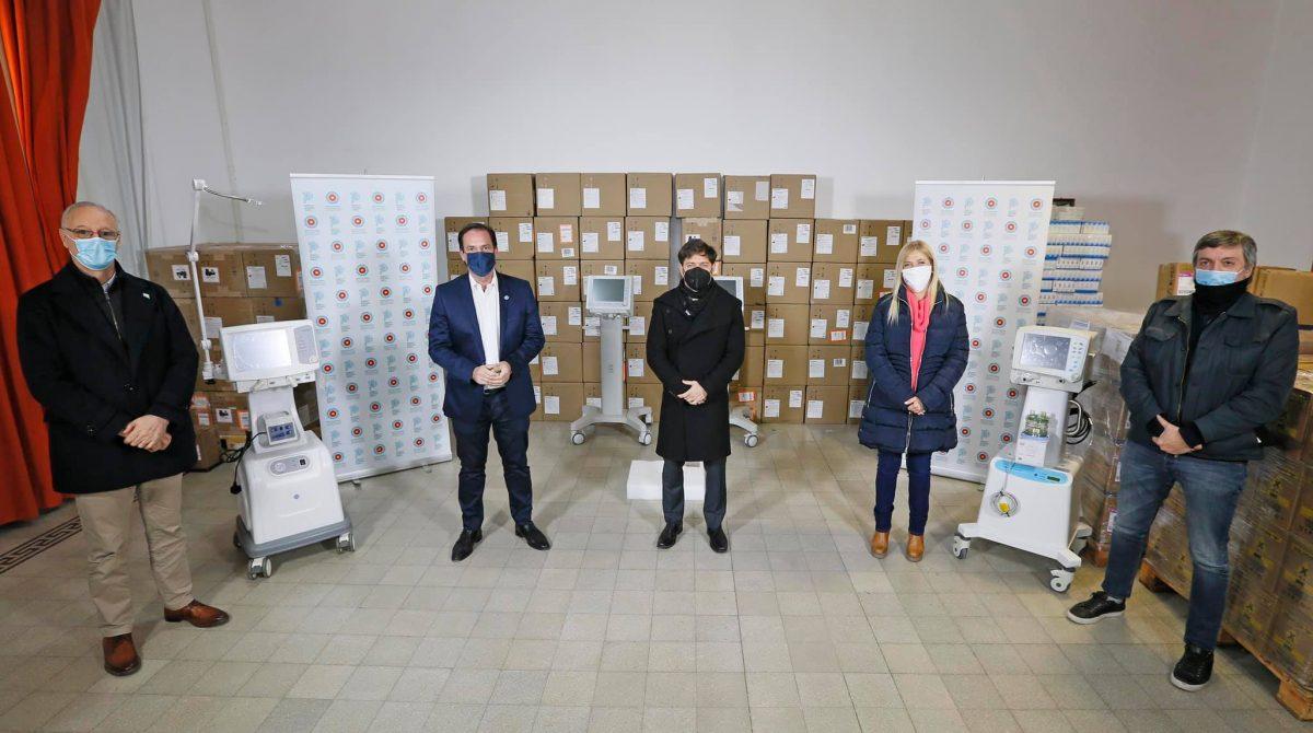 El Hospital Municipal Néstor Kirchner de Savio recibió diez nuevos respiradores