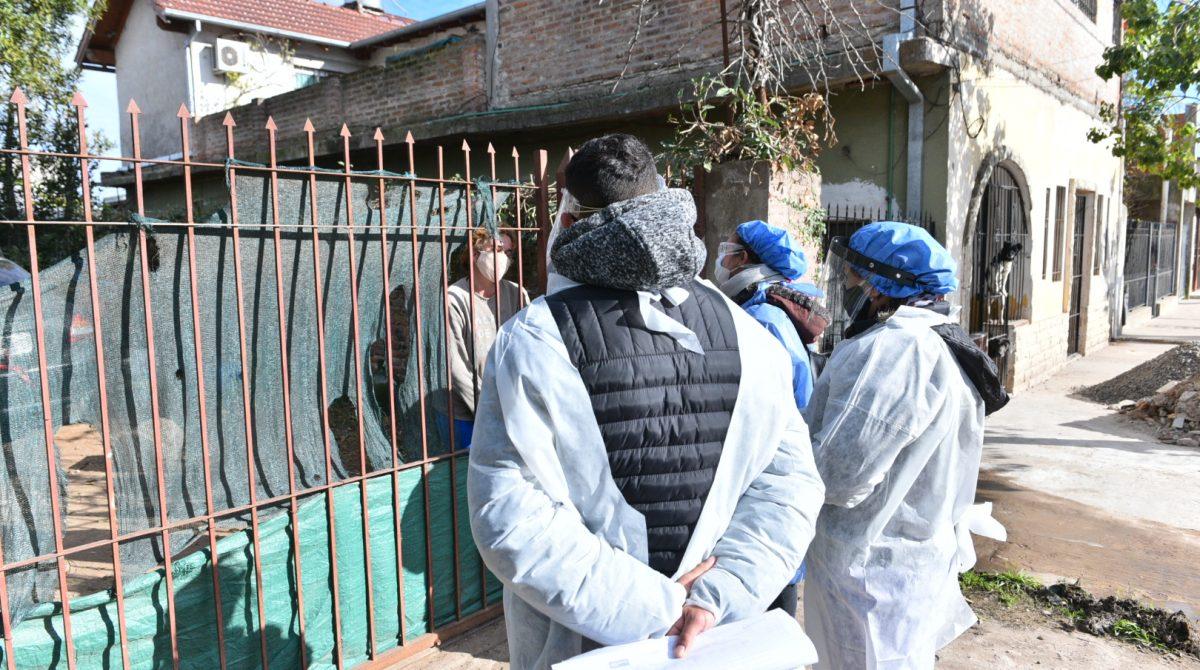 Coronavirus: el Plan DetectAR desarrolló su habitual operativo sanitario en más de 1400 hogares del partido de Escobar