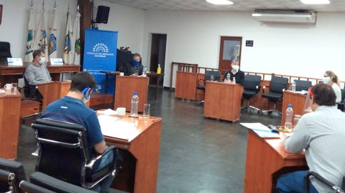 El Concejo Deliberante de Escobar funcionará con estrictas medidas de bioseguridad