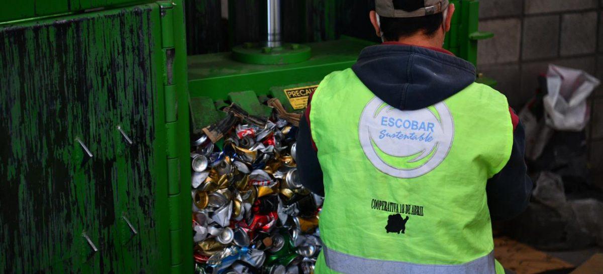 Escobar Sostenible: se recolectaron 30.000 kilos de residuos sólidos urbanos para reciclar