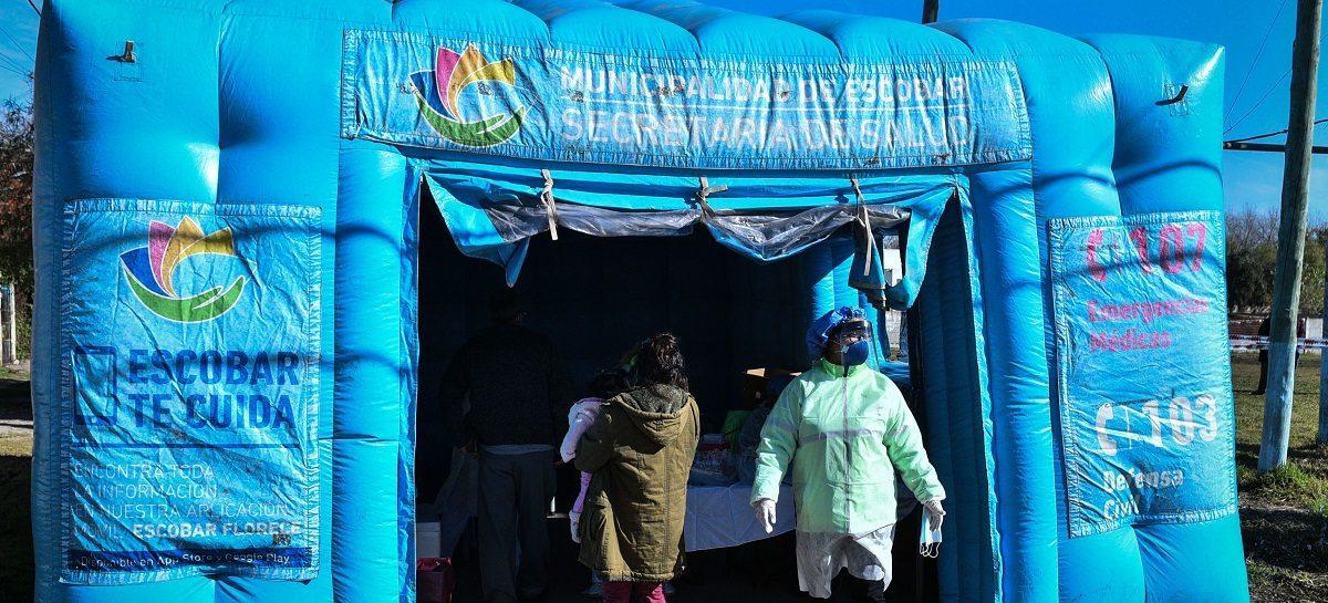 Coronavirus: en un operativo conjunto entre Municipio y Nación, el Plan DetectAR llega a Garín