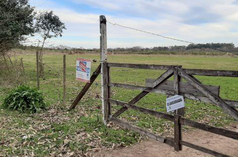 La Municipalidad de Escobar clausuró un loteo clandestino en Loma Verde y formuló una denuncia penal para que la Justicia investigue