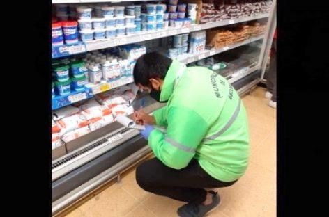 El municipio continúa con las tareas de supervisión del programa Precios Máximos en supermercados de todo el distrito