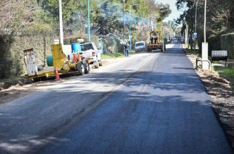 Continúa el desarrollo de importantes obras públicas en Loma Verde y Belén de Escobar