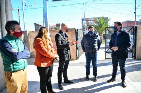 Sujarchuk y el ministro Arroyo firmaron importantes convenios para fortalecer los Centros de Desarrollo Infantil y el programa Operativo Frío