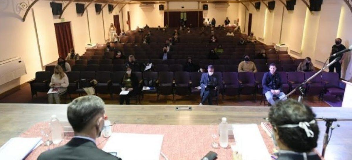 HCD de Escobar: Se realizó la Asamblea de Concejales y Mayores Contribuyentes y la sexta sesión ordinaria en el Teatro Seminari