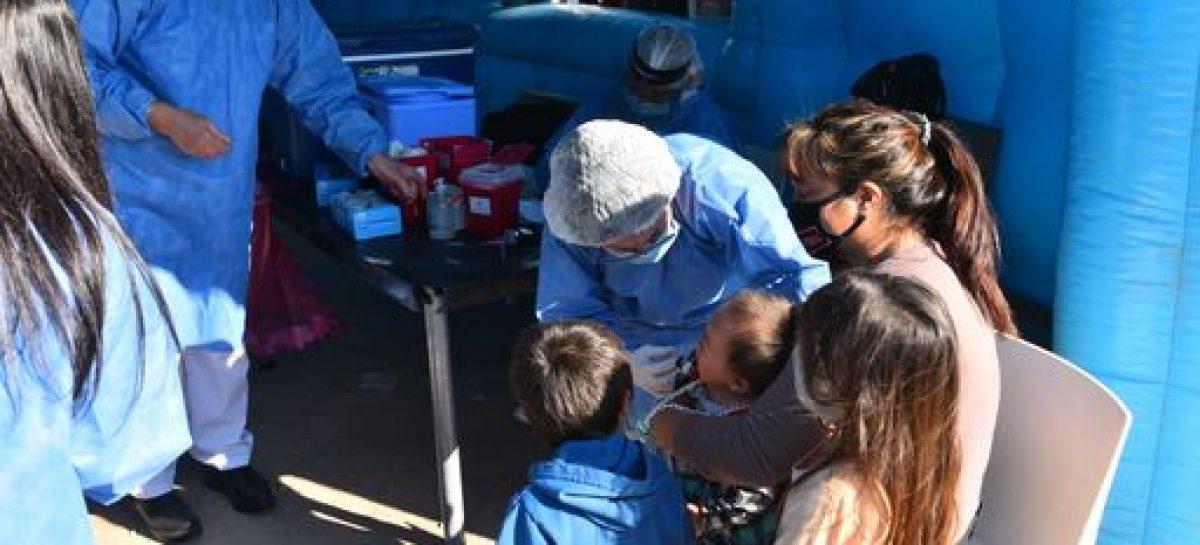 Plan DetectAR: la Municipalidad de Escobar y el Ministerio de Salud de la Nación desarrollaron el operativo sanitario en más de 1.000 hogares del barrio Amancay