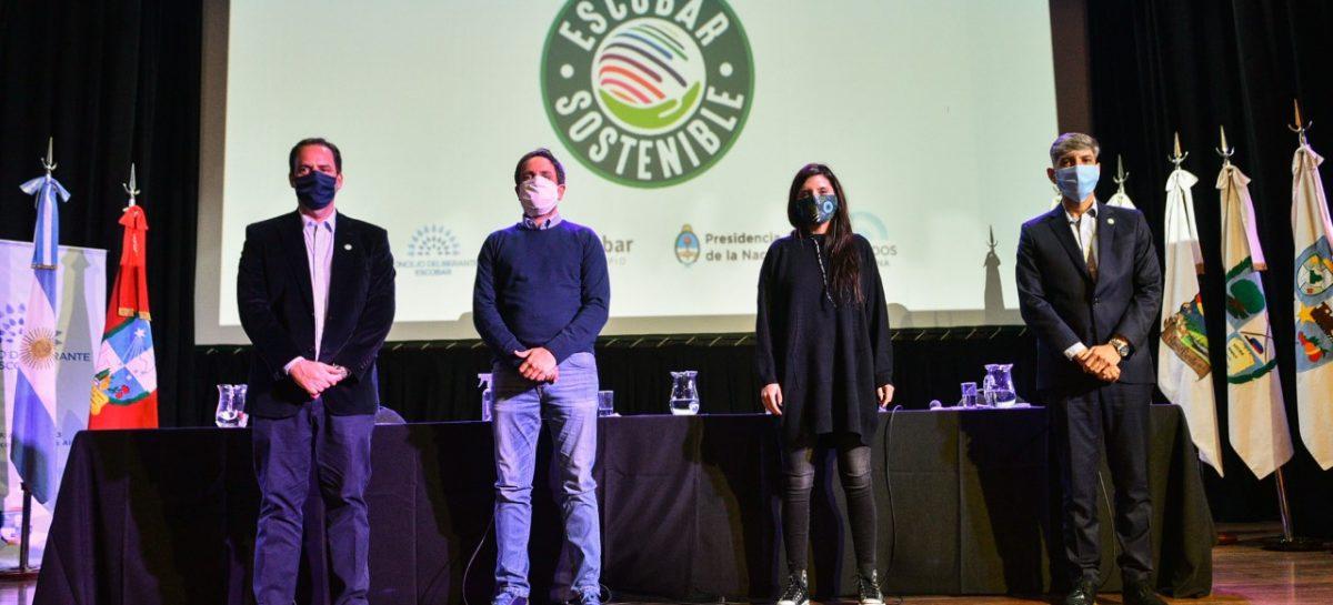 Ariel Sujarchuk presentó su agenda verde de proyectos de ordenanzas, convocó a la sociedad civil al debate ambiental y firmó convenios con el ministro Cabandié