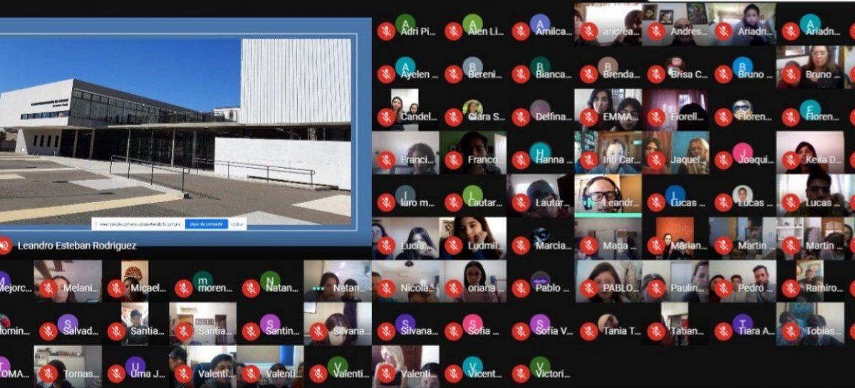 Colegio Ramón Cereijo: con más de 400 estudiantes comenzó el curso de ingreso bajo modalidad virtual