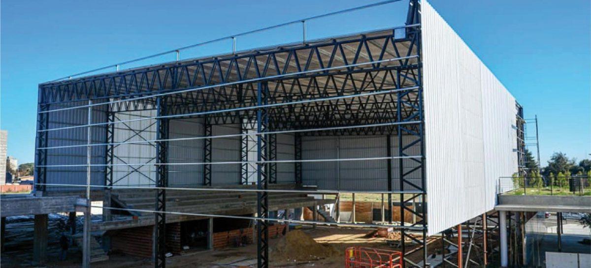 El municipio continúa con la ampliación de la infraestructura del Colegio Ramón A. Cereijo