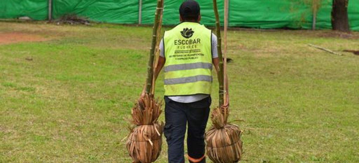 En Garín, la Municipalidad continúa el Plan de Arbolado Urbano de Escobar con la plantación de 160 árboles
