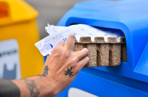 Durante julio se recolectaron 28.000 kilos de residuos sólidos urbanos para reciclar