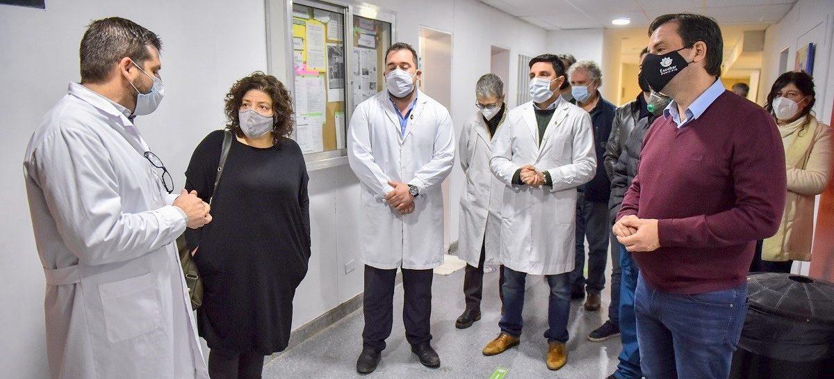 Sujarchuk recibió a Carla vizzotti en Escobar para articular acciones conjuntas en el combate contra el coronavirus