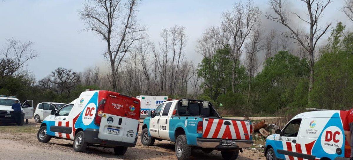 El municipio afirma que el incendio en el Paraná de las Palmas fue extinguido y presentó una denuncia para que se investigue el origen del siniestro