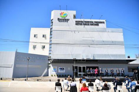 Con la presencia de Alberto Fernández quedó inaugurado en Savio el Hospital Municipal Néstor Kirchner