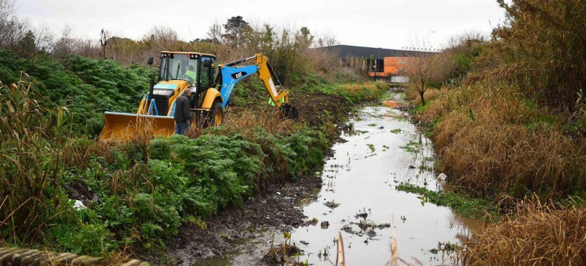 La Municipalidad de Escobar continúa con las obras hidráulicas en todo el distrito