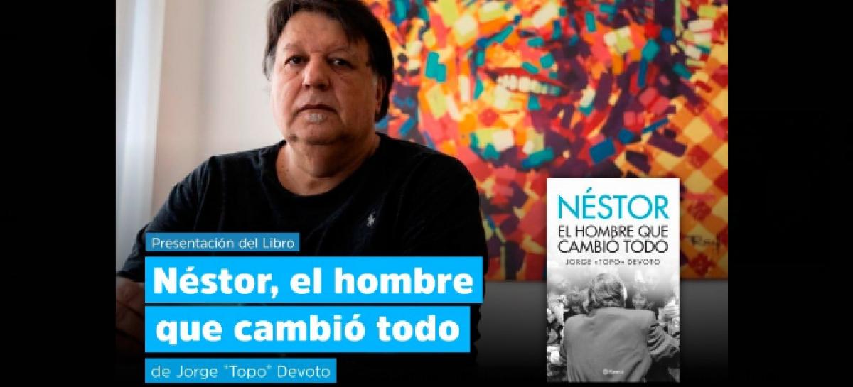 El Partido Justicialista de Escobar recibe al autor del libro sobre Néstor Kirchner