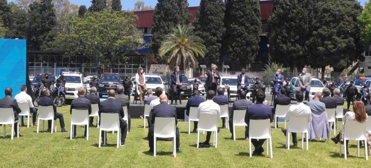 A través del Programa de Fortalecimiento de Seguridad, el partido de Escobar sumará 50 patrulleros y 500 videocámaras