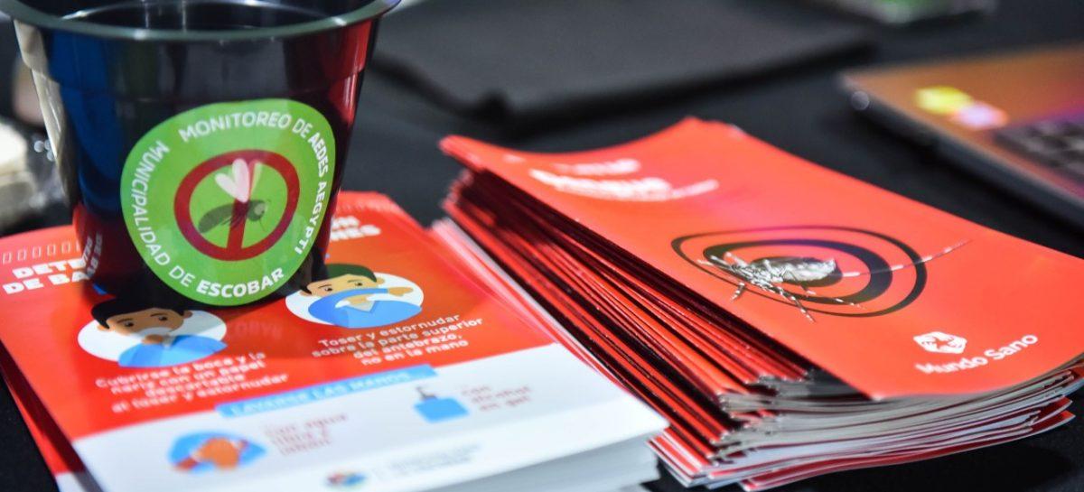 La Municipalidad de Escobar profundiza la campaña de prevención de dengue con la entrega de más de 300 ovitrampas