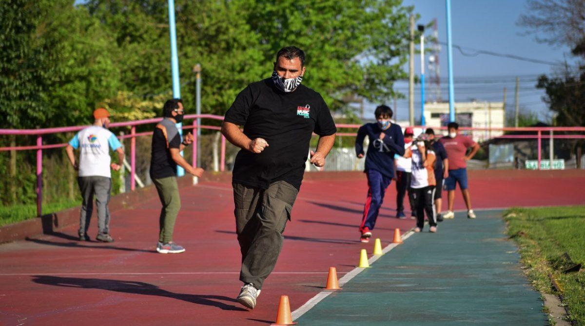 El Área de Deportes para Personas con Discapacidad de la Municipalidad de Escobar retornó a las actividades presenciales