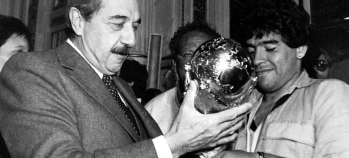 Sujarchuk quiere que Maradona, Kirchner y Alfonsín tengan su propio monumento en el partido de Escobar