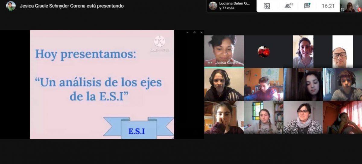 Con la participación de estudiantes, docentes y familias, se realizó el Mes de la ESI en el Colegio Ramón A. Cereijo