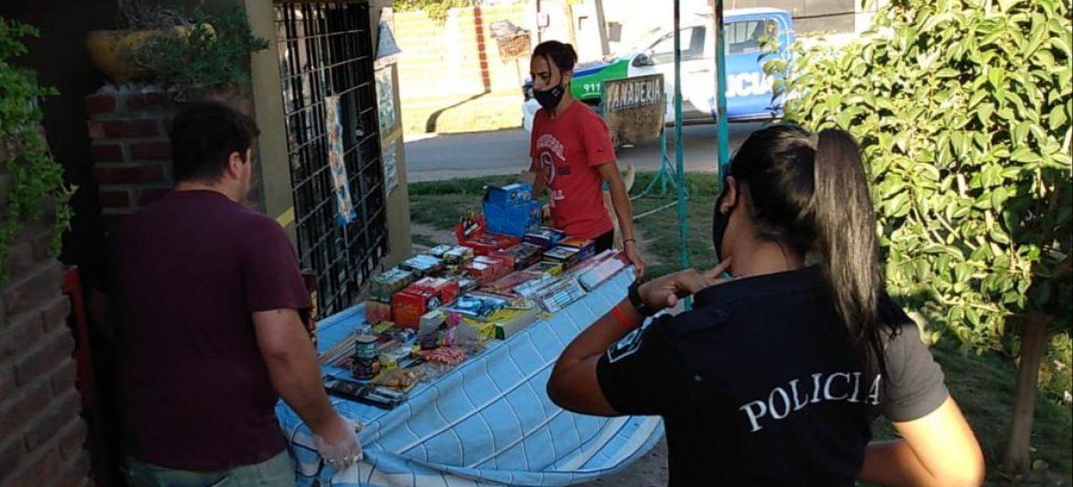La Municipalidad secuestró más de 200 kilos de artículos explosivos que se comercializaban de forma clandestina en Maquinista Savio y Garín