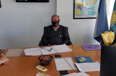 Rocío Fernández se reunió con Eduardo Santín, Presidente del Instituto de Previsión Social (IPS)