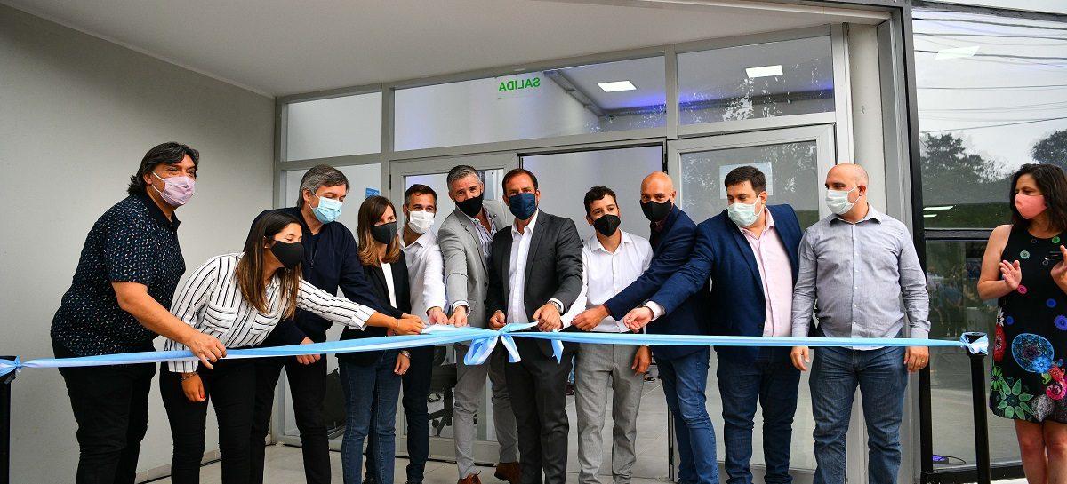 Nueva oficina de ANSES en Garín: junto a Sujarchuk participaron de la inauguración Fernanda Raverta y Máximo Kirchner