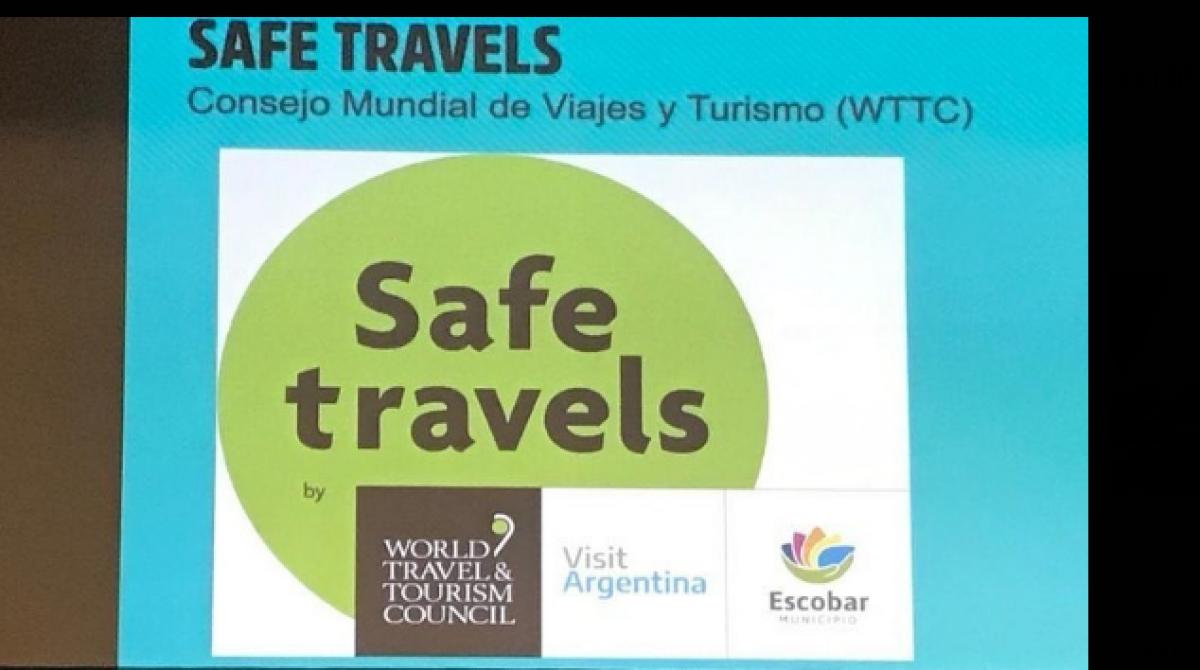 """Turismo responsable y seguro: en el contexto de la pandemia, Escobar fue certificado con el sello mundial """"Safe Travels"""""""
