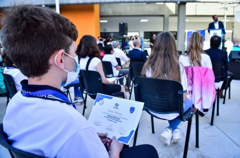 Se llevó a cabo el acto de colación de la segunda cohorte de ingresantes al Colegio Preuniversitario Dr. Ramón A. Cereijo